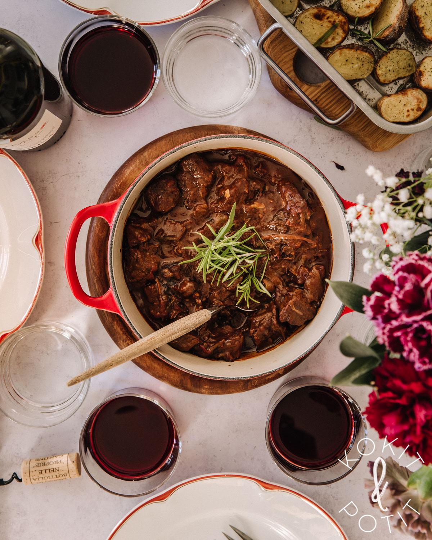 Syysruokien aatelia: Burgundinpata