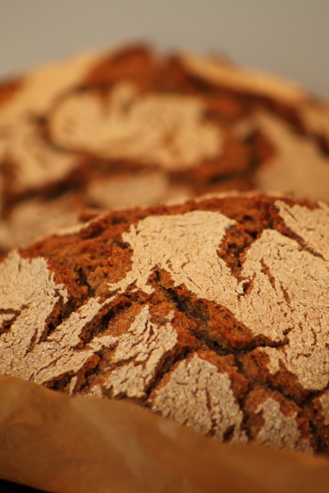Tuoretta ruisleipää kotiuunista
