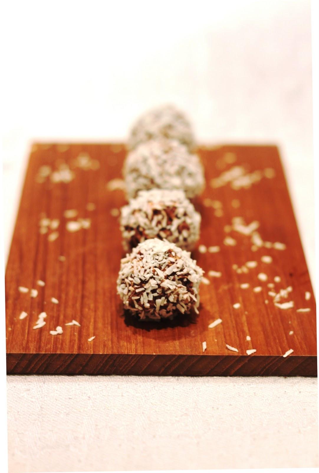 Suklaiset pallot