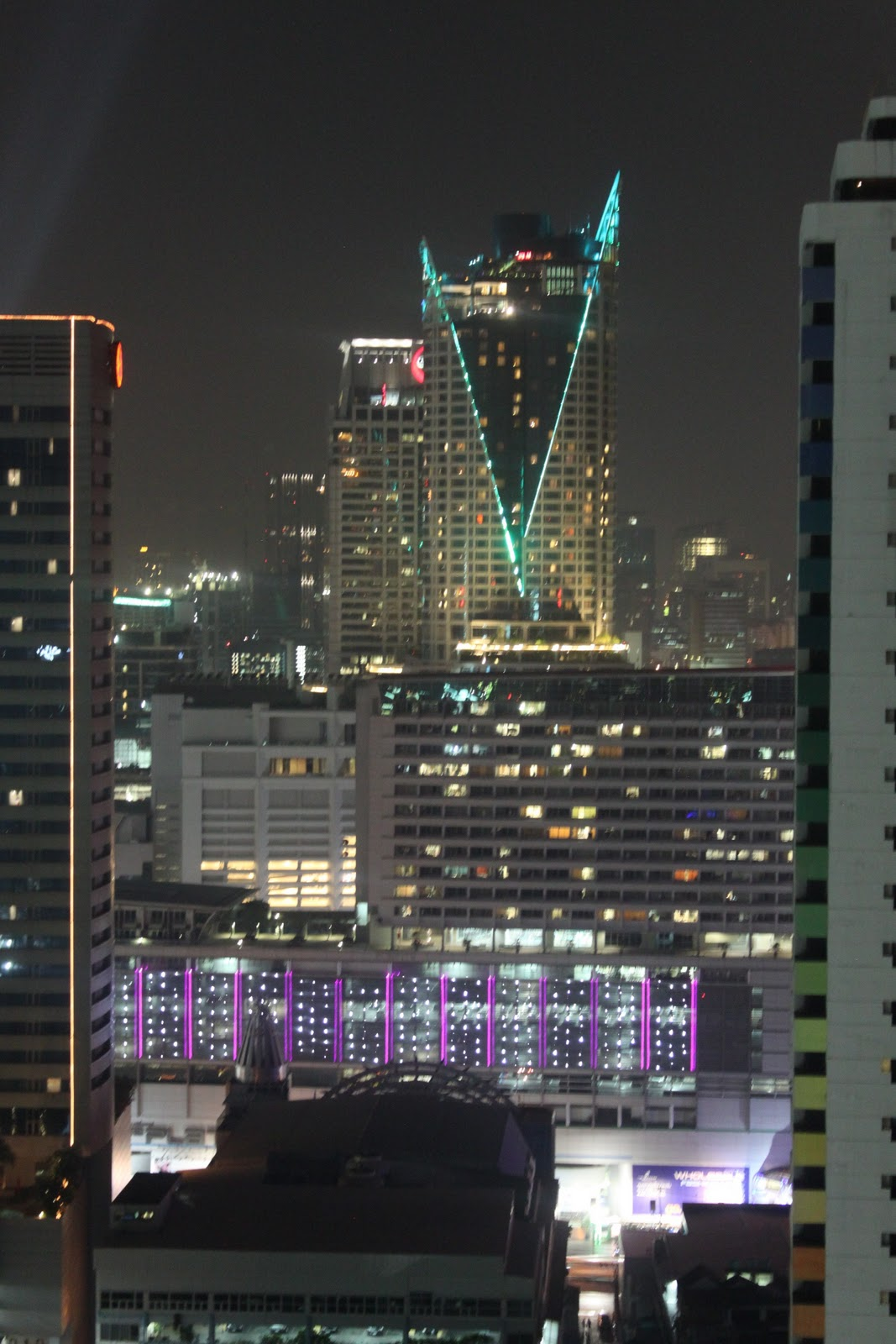 One night in Bangkok!