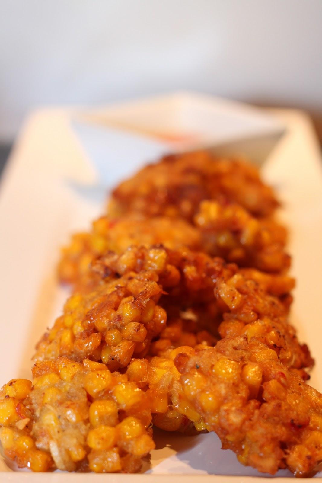 Friteeratut maissinökköset