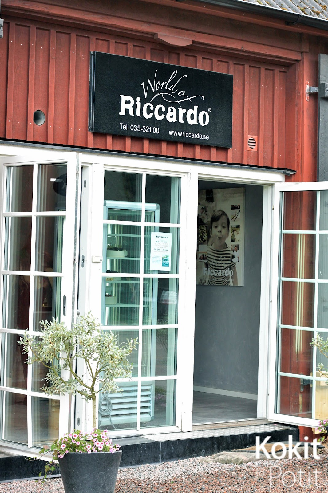 Riccardo – italialaista jätskiä Ruotsin maaseudulla