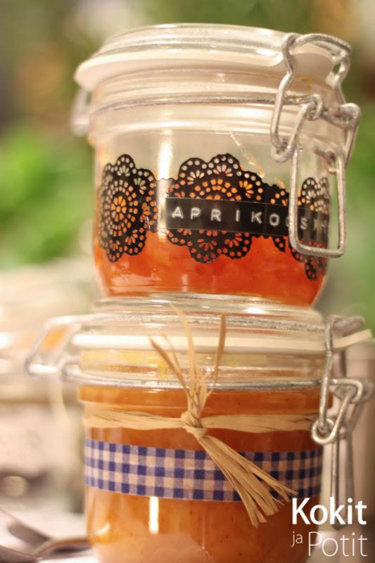Aprikoosihilloke (ja etikkailtamat)