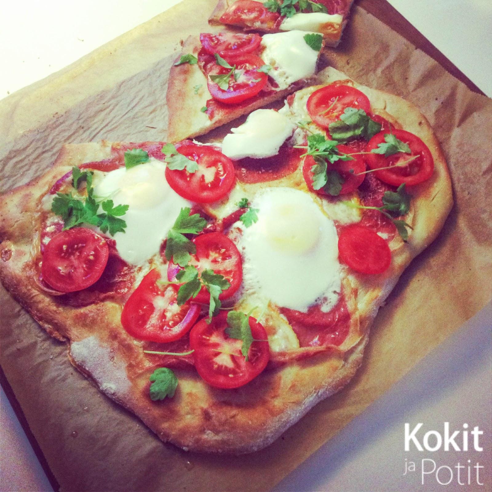Aamiaispizza – täydellinen alku päivälle!