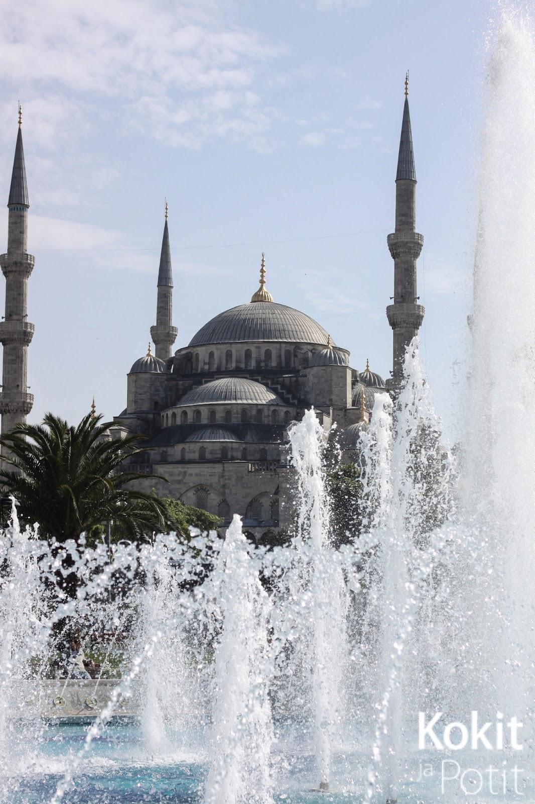 Upea ja inspiroiva Istanbul