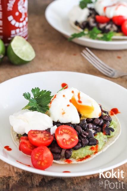 Huevos rancheros – yksi ruoka aamusta iltaan