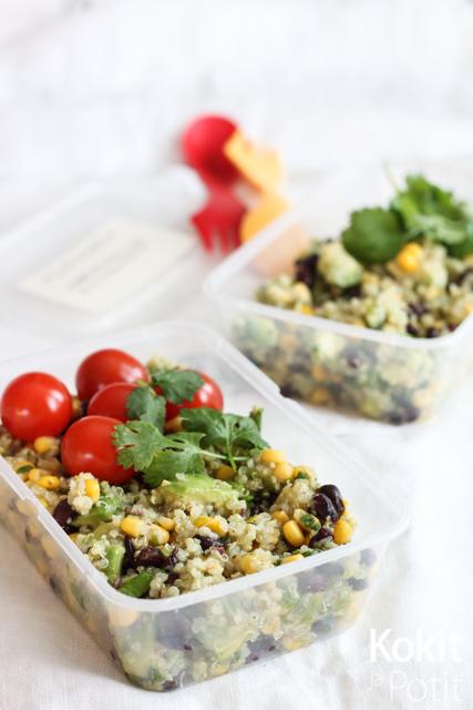 Meksikolainen kvinoasalaatti ja muut evässalaatit