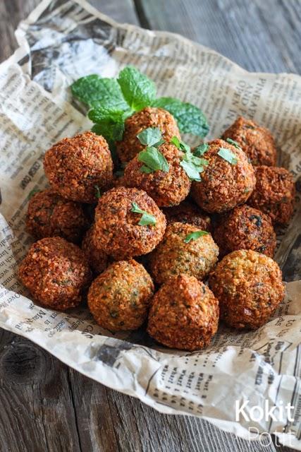 Falafelit – mainettaan helpompi homma