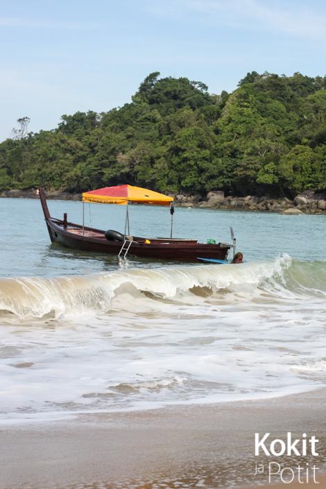 Khao Lak – hyvää ruokaa ja rauhoittavaa rantaviivaa