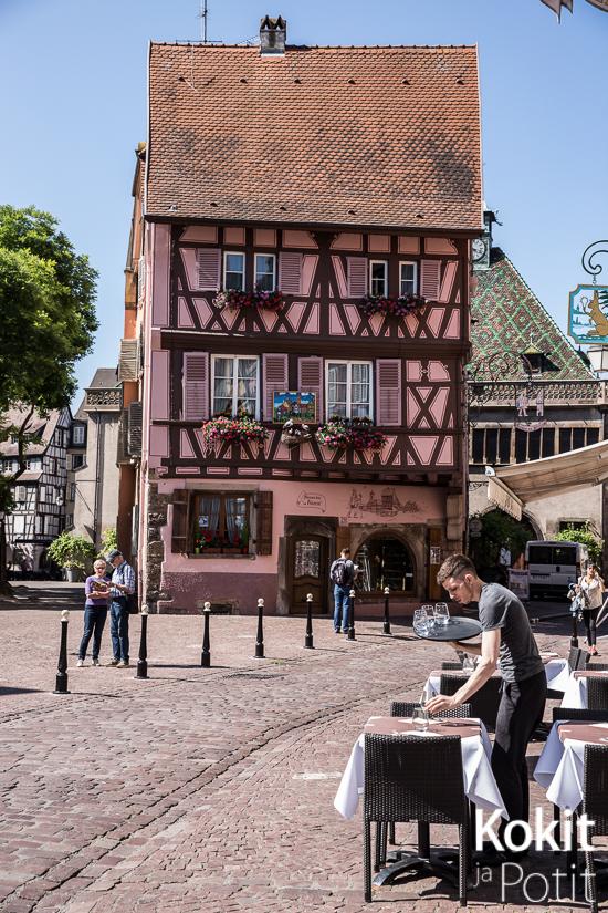 Alsacen viinitie