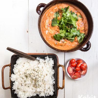 Nopea arkiruoka: intialainen curry