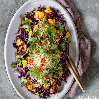 Indonesialainen gado gado -salaatti