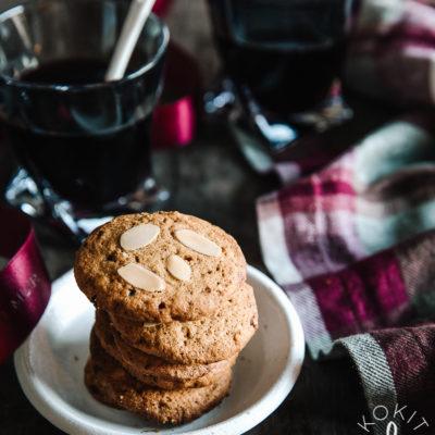 Gluteenittomat piparkakku-cookiet