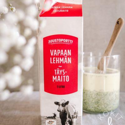 Vastuullisempaa maitoa