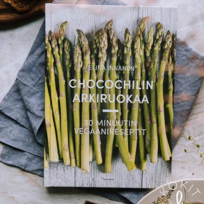 ARVONTA – voita Chocochilin arkiruokaa -keittokirja