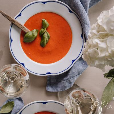Tomaattikeitto – paahtaen paremmaksi
