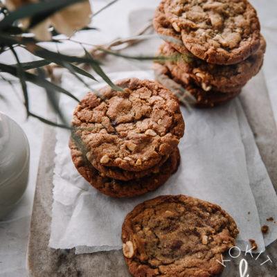 Helpot suolapähkinäcookiet