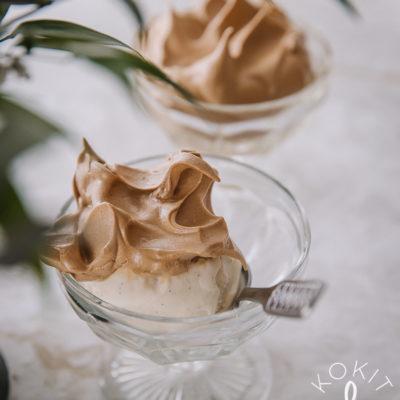 Dalgona-jäätelö