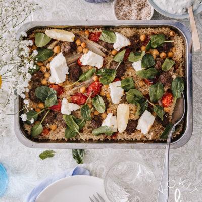 Lihapullapelti – helppo one pot -ruoka