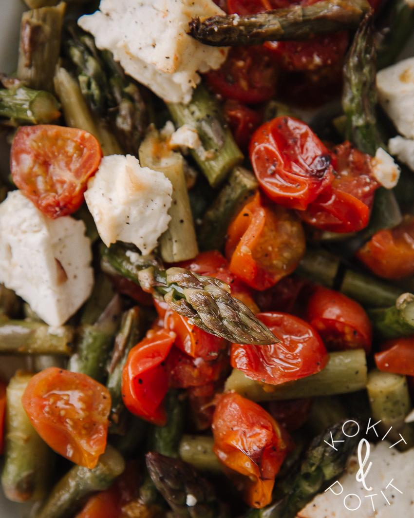 Helppo parsa-uunifetasalaatti resepti