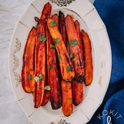 Gochujang-porkkanat
