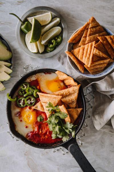Huevos rancheros on meksikolainen aamupala