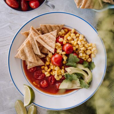 Meksikolainen tomaattikeitto