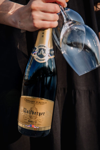 Wolfberger crémant d'Alsace brut kuohuviini